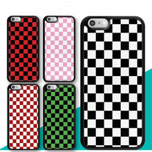 Checkerboard ลายสก๊อต Checkered สำหรับ iPhone 11 11pro 11 PROMAX X XR XS MAX 6 6 S 7 8 plus TPU Coque(China)