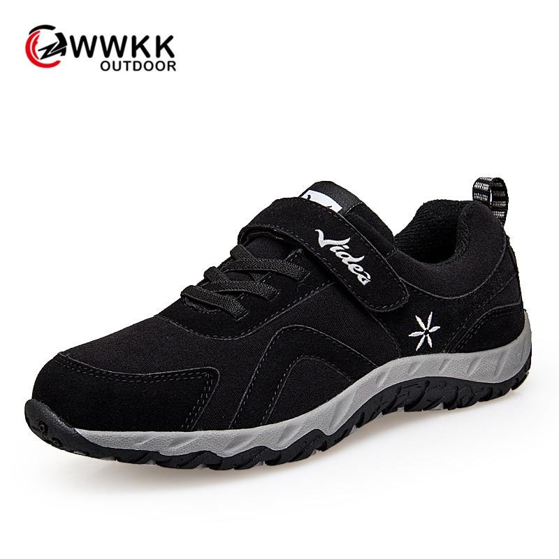 WWKK/Женская походная обувь; спортивная обувь на шнуровке; женские кроссовки для бега и треккинга; нескользящая износостойкая женская обувь д...
