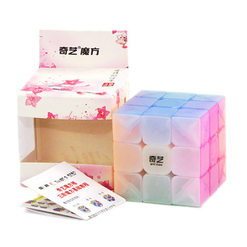 QiYi Warrior W 3x3x3 Jelly Cube Speed 3X3 3Layers Professional Cubo Magico Puzzle Toy For Children Kids Gift - discount item  10% OFF Games And Puzzles