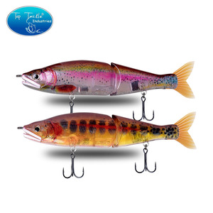 "Image 1 - 148mm 5.8 178mm 7"" 220mm 8.7 איטי שוקע מלוחים או צף מים מתוקים גדול בס מפרקים פיתיונות Swimbait דיג פתיונות"