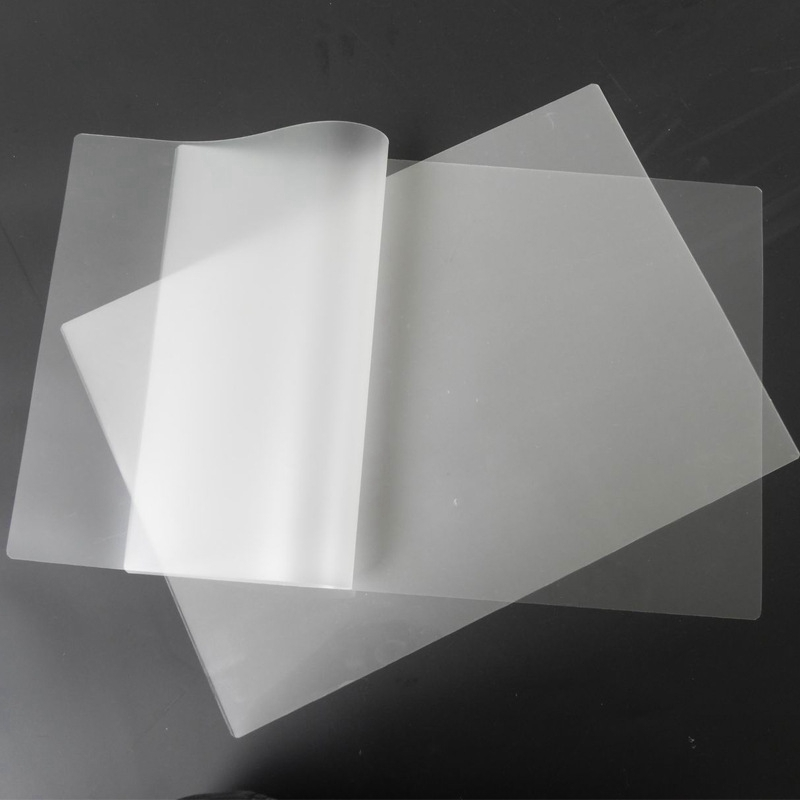 PPYY NEW -50PCS/Lot 70 Mic A4 Thermal Laminating Film PET For Photo/Files/Card/Picture Lamination