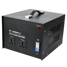 цена на 5000W Voltage Converter 110V to 220V Power Transformer Built-in Circuit Breaker Overload Protection