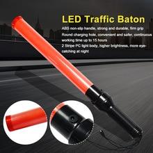 Baton Police Traffic Light-Stick Warning-Tools Indicator Flash LED 54cm Glow-Wand Signal-Safty