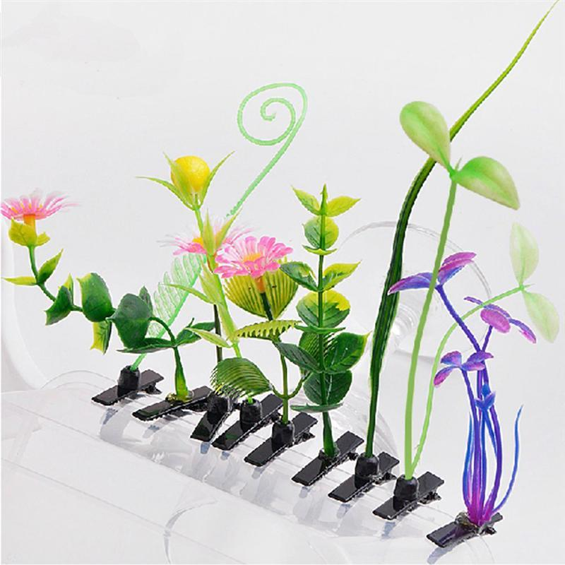 10 pçs sprout grampo de cabelo bonito flor headwear grama grampo de cabelo hairpin decoração para o cabelo feminino meninas