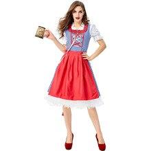 New Beer Woman Bavarian Girl Costume Sexy Oktoberfest Festival Carnival Party Fancy Dress Halloween For Women