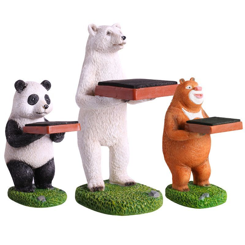 New Animals Shape Watch Stands Panada Special Watch And Jewelry Decoration Watch Display Stand Fashion Watch Gift Boxes Case