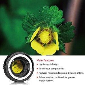 Image 4 - MK N AF A オートフォーカスマクロ延長チューブリングニコン D60 D90 D3000 D3100 D3200 D5000 D5100 D5200 D7000 D7100 カメラデジタル一眼レフナフ