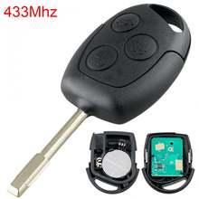 1 шт Черный Прочный 433 МГц 3 кнопки Замена Автомобильный Дистанционный