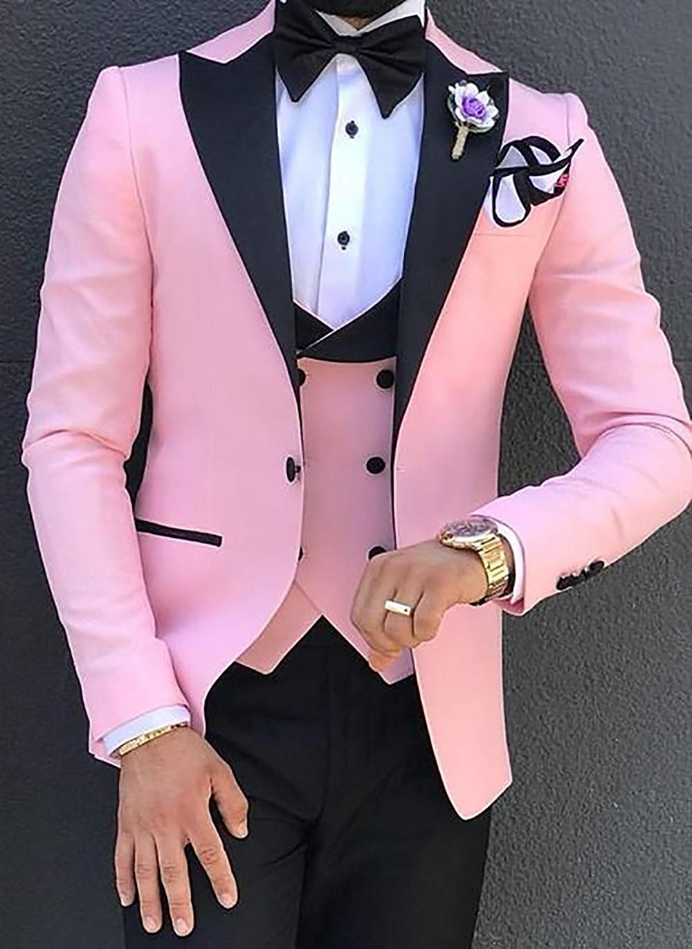 Men-Suits-3-Pieces-Slim-Fit-Business-Suits-Groom-Champagne-Noble-Grey-White-Tuxedos-for-Formal (2)