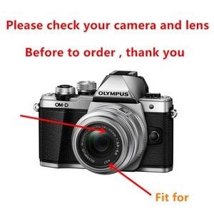 Image 2 - 37Mm Uv Filter + Metalen Zonnekap + Cap Voor Olympus Omd EM10 Ii Iii OM D E M10 Mark Iv iii Ii 4 3 2 Camera Met 14 42Mm Lenzen