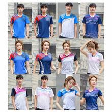 2020 New Badminton Shirt Male Female , Girl Badminton Jerseys , Youth Tennis Clothes , Table Tennis Clothing , Team Game Kits