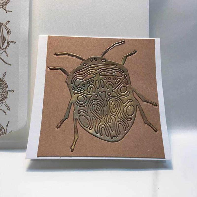 Metalen stansmessen natuur bug insect sterven cut mold scrapbooking kaarten maken papier ambachtelijke mes schimmel stencils nieuwe 2019