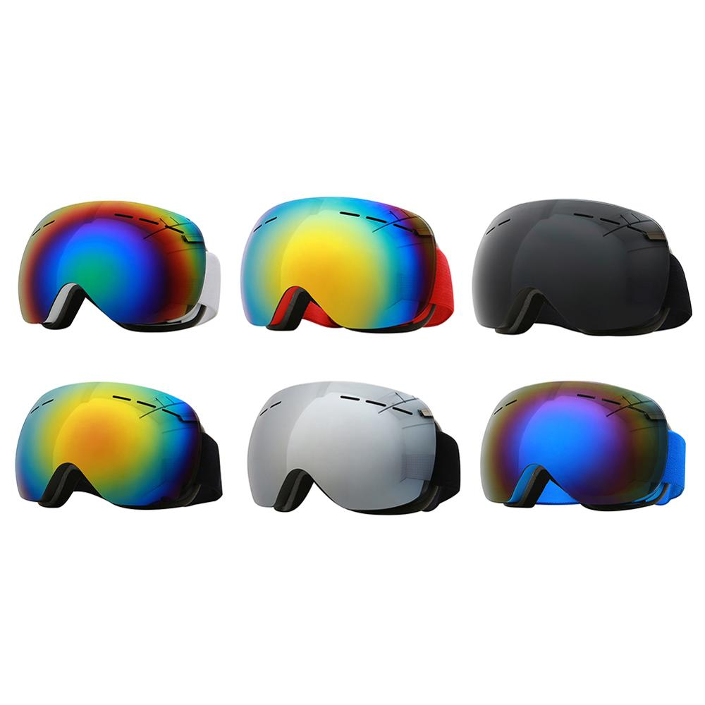 2020 Ski Goggles Ski Mask Men Women Snowboard Goggles Glasses Skiing UV400 Protection Anti-fog Snow Skiing Glasses
