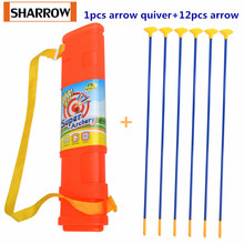 Archery Children's Arrows with Suction Cup Youth Simulation Arrow Replacement Arrow with Arrow Quiver Practice Training Gift suction training model suction medical simulation