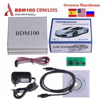 BDM100 ECU Programmer ECU Chip Tuning Tool CDM1255 BDM 100 BDM Frame with Adapters OBD2 Automotive Diagnostic Tool Free Shipping