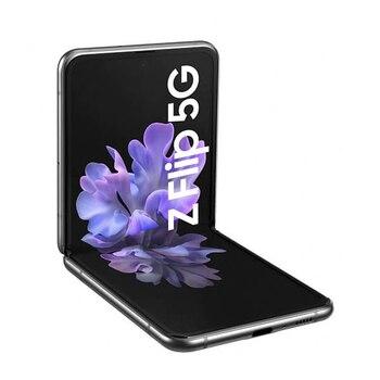 Перейти на Алиэкспресс и купить Samsung Galaxy Z Флип 5G 8GB/256GB серый (Мистик», «серый) Dual SIM F707F