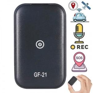 Image 1 - Gf21 mini gps em tempo real rastreador de carro anti perdido dispositivo de gravação de controle de voz localizador de microfone de alta definição wi fi + lbs + gps pos