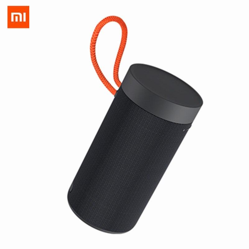 Xiaomi ao ar livre bluetooth alto-falante portátil sem fio duplo microfone alto-falante mp3 player estéreo música surround alto-falantes à prova dwaterproof água
