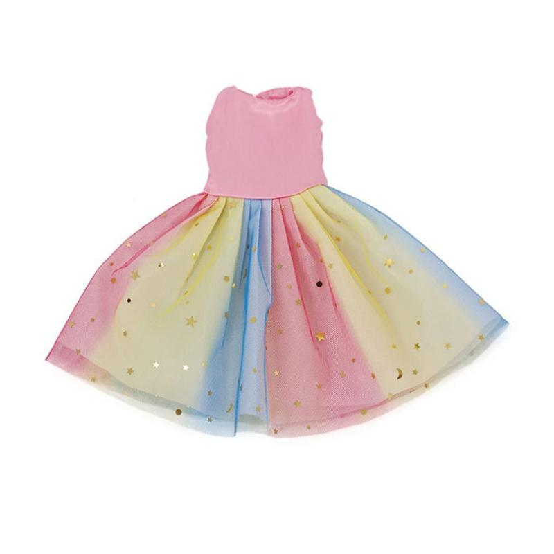 14.5 Inch Girl Doll Clothes Fashion Cute Dresss Sequin Dress For Girl's Toy Doll Accessories Children Gifts