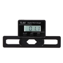 TL90 Digital Pitch Gauge LCD Backlight Display Blades Angle Measurement Tool