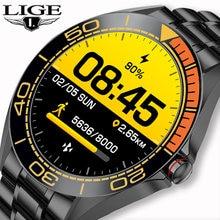 Смарт часы lige мужские водонепроницаемые с сенсорным экраном