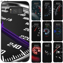 Zwart Tpu Case Cool Auto Snelheidsmeter Telefoon Case Voor Samsung J4 Core J6 J8 2018 J4 J6 Plus J7 Duo(China)
