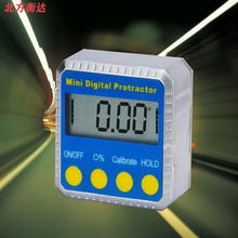 Product Name: IP54 with strong magnetic electronic digital inclinometer angle ruler gauge level protractor zinc aluminum