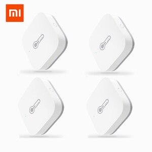 Xiaomi AQara inteligentny czujnik wilgotności temperatury ZigBee Wifi bezprzewodowa praca z inteligentnym domem mijia Mi home App