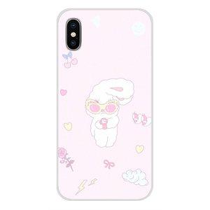Силиконовый чехол с милым розовым кроликом Эстер Банни для Xiao mi 4 mi 5 mi 5S mi 6 mi A1 A2 5X6X8 9 Lite SE Pro mi Max mi x 2 3 2S