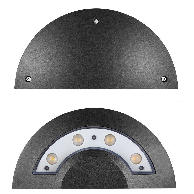 luminaria de parede led ufo para areas externas internas 4w 04