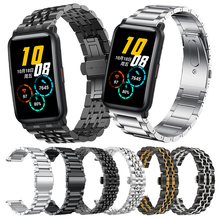 נירוסטה רצועת לכבוד ES צמיד להקת שעון קלאסי מתכת להקת יד עבור Huawei כבוד שעון ES חכם שעון רצועה
