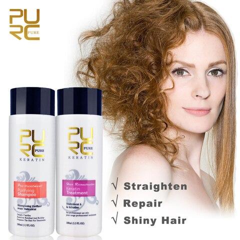 Professional Keratin Hair Repair Treatment 5% Hair Straightener Clarifying Shampoo for Open Cuticle Supple Smooth Hair Care Karachi