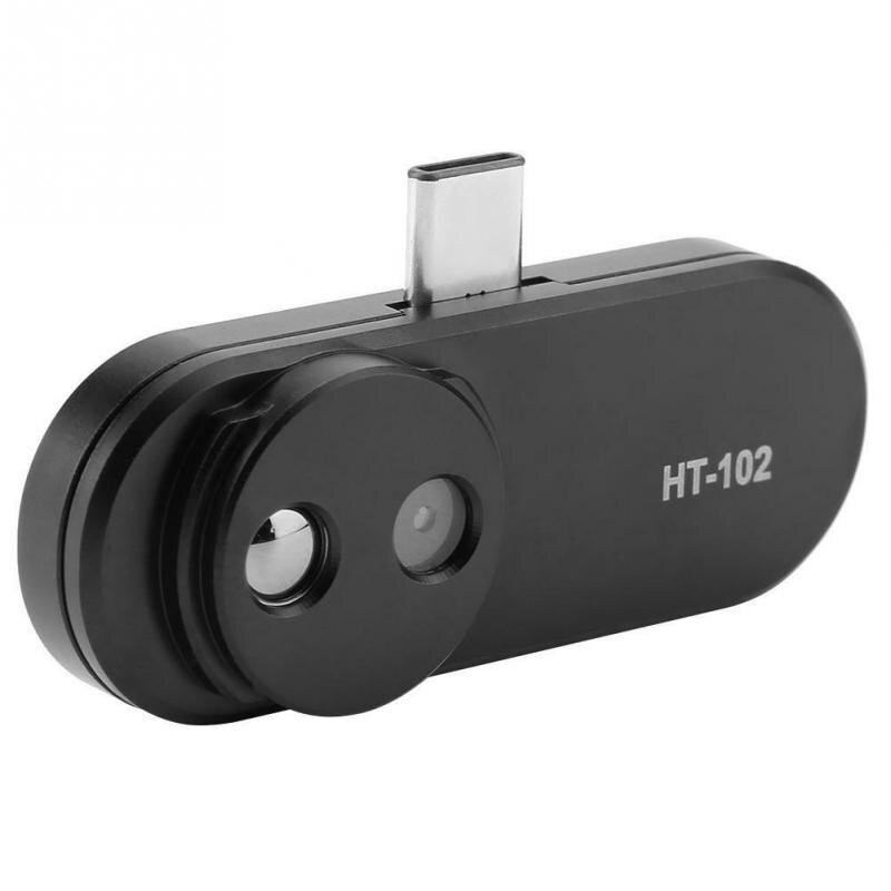 Портативный HT-102 термометр Многофункциональный измеритель мобильный телефон тепловой Инфракрасный Тепловизор поддержка видео фотографии для Android типа