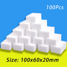 5/10/20/50/100 pces esponja mágica esponja de melamina esponja do agregado familiar esponja borracha limpeza ferramentas para escritório cozinha banho limpeza esponjas