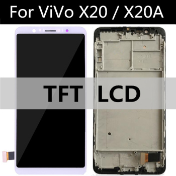 For VIVO X20 X20A LCD Display +Touch Screen Digitizer Glass Lens Assembly Replacement  for phone X20 A LCD screen prestigio grace s5 lte psp5551 duo psp 5551 duo lcd display touch screen digitizer panel sensor lens glass assembly 5 5