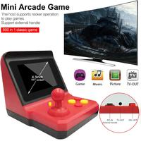 Retro Arcade 8BIT Restoring Ancient Ways Mini Arcade FC Palm Machine SUP Rocker Recreational Machines 600 Games