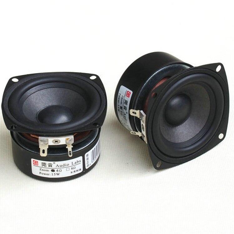 Kaolanhon 1 pièces 5-15W 4 ~ 8 Ohm 3 pouces amplificateur pleine gamme haut-parleur basse Mellow Fine aigus doux HIFI haut-parleur qualité sonore
