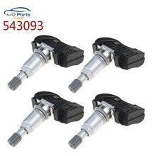 Neue 4Pcs 543093 Für Citroen C4 C5 C6 C8 Für Peugeot 508 607 TPMS Sensor Reifendruck Monitor 9656822980 9634866180 5430T4