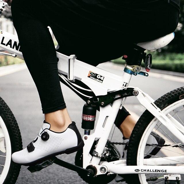 Tênis profissional de ciclismo mtb, sapatos esportivos masculinos de corrida, respirável e autotravamento, para corrida, bicicleta de estrada, novo, 2020 6