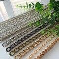 1 метр декоративная металлическая цепочка бирка цепочка для Свадебная вечеринка украшения DIY украшения ручной работы Поиск аксессуаров