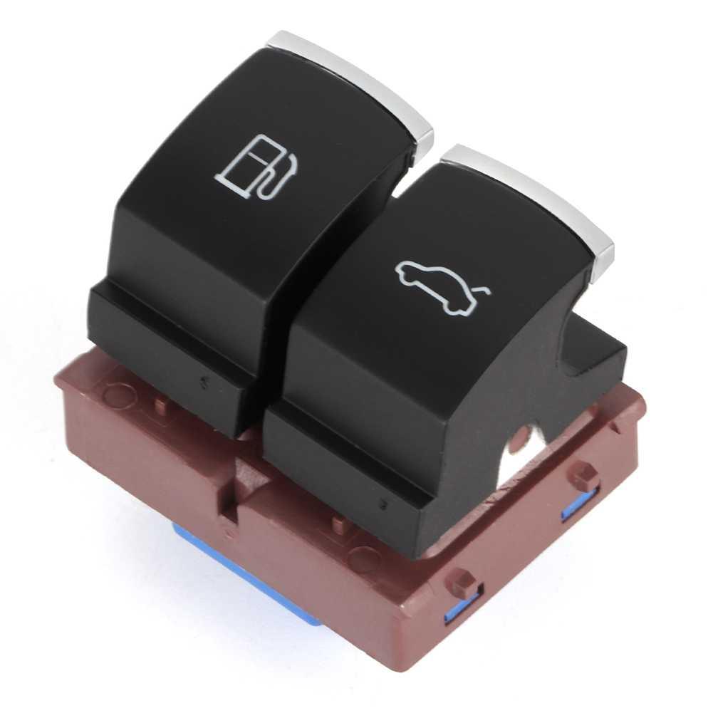 車クローム燃料ガスタンクドア & トランクのためのジェッタ Golf Passat シロッコ Polo Touran EOS ティグアン cc ビートル