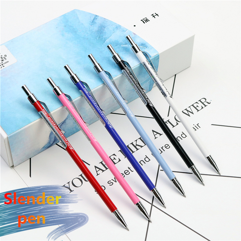 Slender Cute Metal Pencil 0.5mm 0.7mm Mechanical Pencil Stylish Beautiful Student Writing  Gift