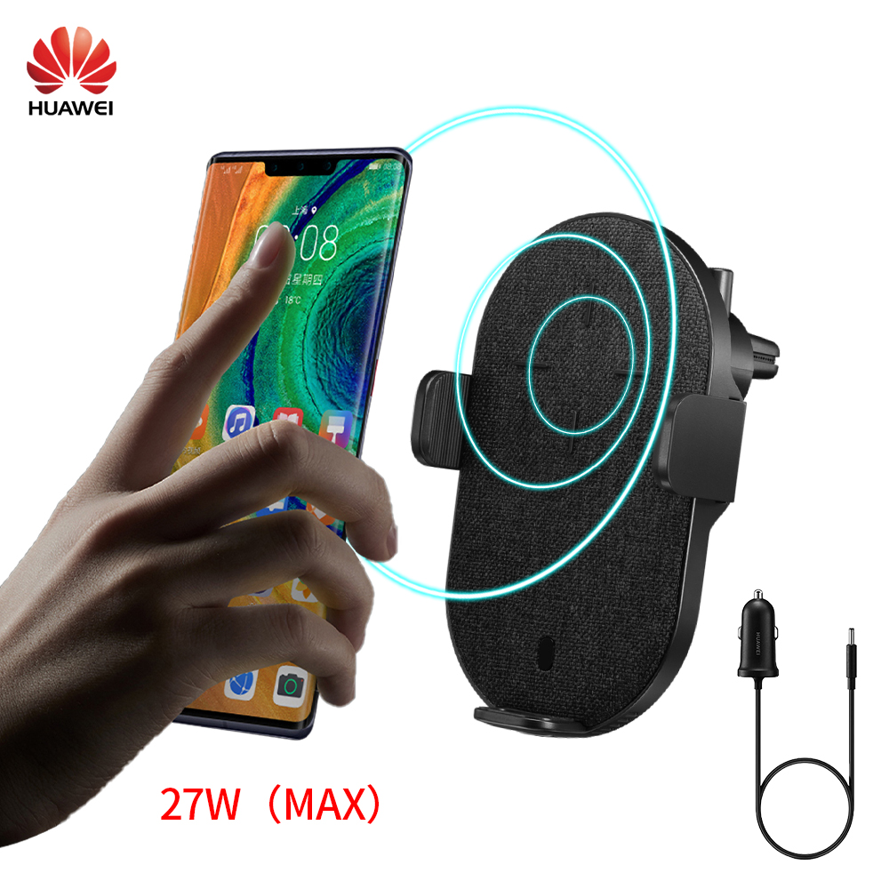 Huawei Car Charger CP39S wireless Charger Huawei 27W Max SuperCharge CarCharger For Huawei mate30 P30 Samsung Xiaomi iphone