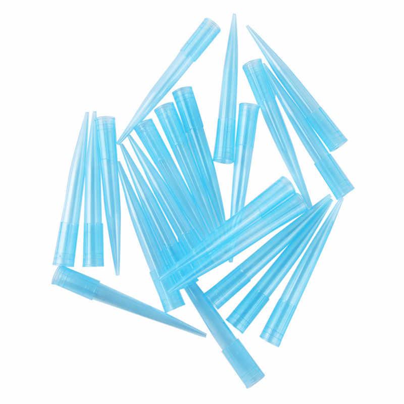 Microchemical científica pipetas llenas de líquidos de Punta accesorios suministros de laboratorio 500 Uds 1ml 1000ul Pipettor punta Premium