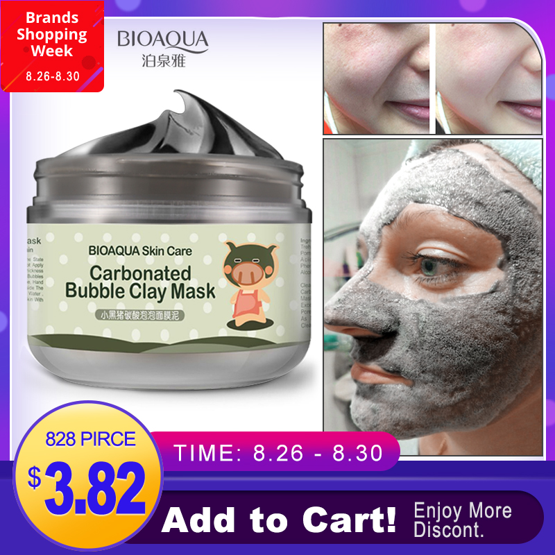 Face-Cream Moisturizing-Facial-Masks Skin-Care Whitening Bubble-Clay Black Head Carbonated