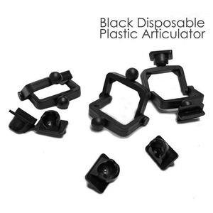 Image 2 - 100本のプラスチックの使い捨て咬合歯科ラボceramco咬合黒