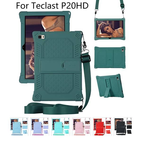Cubierta de la caja para Teclast P20HD M40 10,1 pulgadas Tablet PC soporte Anti-Protección de silicona estuche con cordón y pluma
