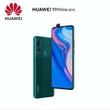 Oryginalny Huawei Y9 Prime 2019 Smartphone 4G 128G kirin 710 Octa core Auto Pop-Up potrójny aparat AI 6.59 cala 4000 mAh EMUI 9.0