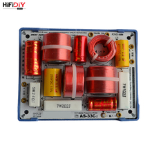 HIFIDIY AS 33C en direct 3 voies 3 haut parleur (tweeter + mi + basse) haut parleurs HiFi séparateur de fréquence audio filtres croisés