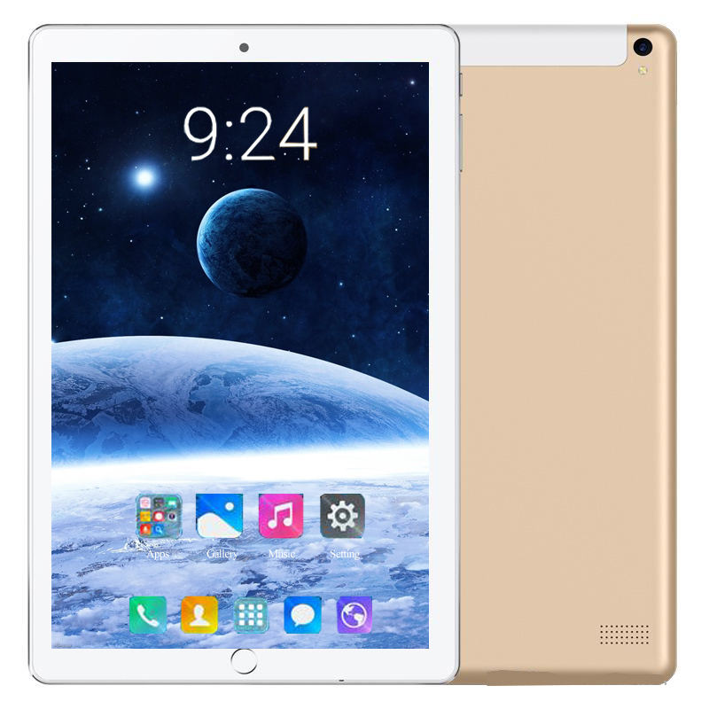 2020 New Android 8.0 Tablets 10.1 Inch 4G LTE Phone Call Tablet PC Octa Core 6G+128GB ROM 1280*800 IPS Dual SIM Wifi Kids Tablet
